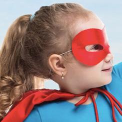 Girl superhero