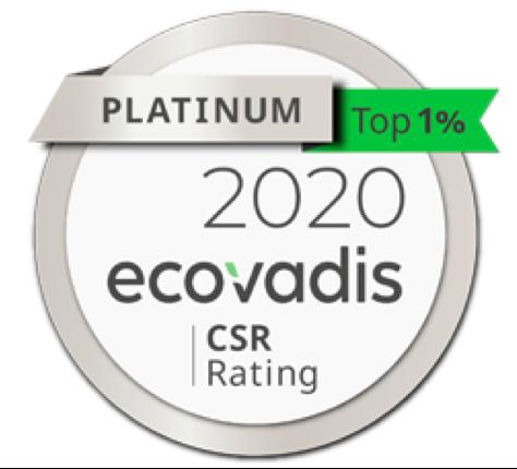 platinum ecovadis