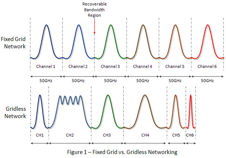 Fixed Grid vs Gridless Network graph