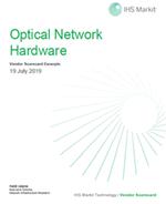 IHS Market Optical Network Hardware Vendor Scorecard